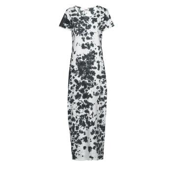 Υφασμάτινα Γυναίκα Μακριά Φορέματα Yurban OVIZ Grey / Άσπρο