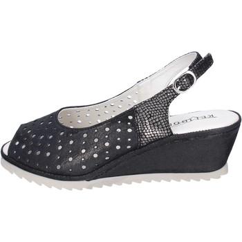 Παπούτσια Γυναίκα Σανδάλια / Πέδιλα Kelidon Σανδάλια BJ354 Μαύρος