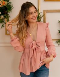 Υφασμάτινα Γυναίκα Μπλούζες Céleste ROSSIGNOL Ροζ
