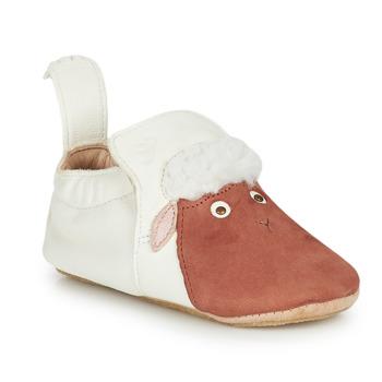 Παπούτσια Παιδί Παντόφλες Easy Peasy BLUBLU MOUTON Άσπρο