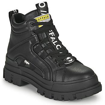 Παπούτσια Γυναίκα Μπότες Buffalo ASPHA NC MID Black