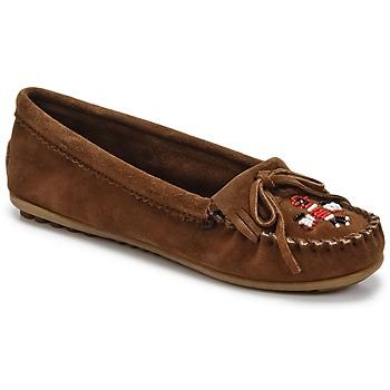 Παπούτσια Γυναίκα Μοκασσίνια Minnetonka THUNDERBIRD II Brown / Fonce