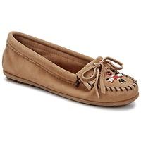 Παπούτσια Γυναίκα Μοκασσίνια Minnetonka THUNDERBIRD II Taupe