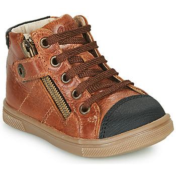 Παπούτσια Αγόρι Ψηλά Sneakers GBB KAMIL Brown