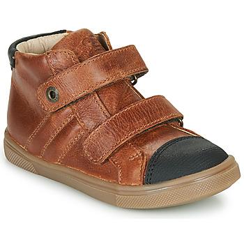 Παπούτσια Αγόρι Ψηλά Sneakers GBB KERWAN Brown