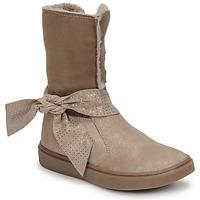 Παπούτσια Κορίτσι Μπότες για την πόλη GBB EVELINA Beige