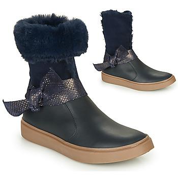 Παπούτσια Κορίτσι Μπότες για την πόλη GBB EVELINA Μπλέ