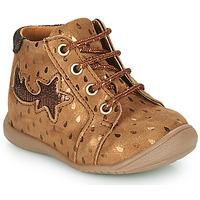 Παπούτσια Κορίτσι Ψηλά Sneakers GBB POMME Brown