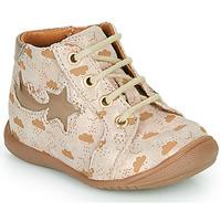 Παπούτσια Κορίτσι Ψηλά Sneakers GBB POMME Beige