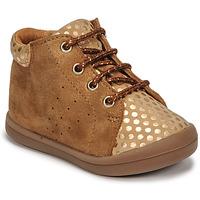 Παπούτσια Κορίτσι Ψηλά Sneakers GBB NAHIA Brown