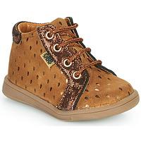 Παπούτσια Κορίτσι Ψηλά Sneakers GBB FAMIA Brown