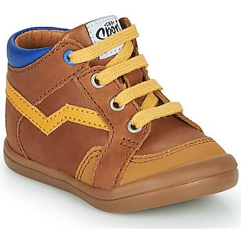 Παπούτσια Αγόρι Ψηλά Sneakers GBB ASTORY Brown