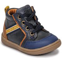 Παπούτσια Αγόρι Ψηλά Sneakers GBB GERMAIN Μπλέ