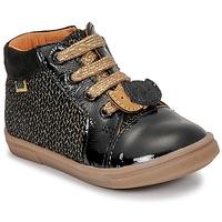 Παπούτσια Κορίτσι Ψηλά Sneakers GBB CHOUBY Black