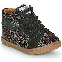 Παπούτσια Κορίτσι Ψηλά Sneakers GBB VALA Black