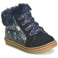 Παπούτσια Κορίτσι Ψηλά Sneakers GBB JUNA Μπλέ