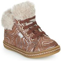 Παπούτσια Κορίτσι Ψηλά Sneakers GBB JUNA Beige