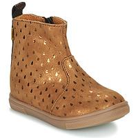 Παπούτσια Κορίτσι Μπότες GBB ERNA Brown