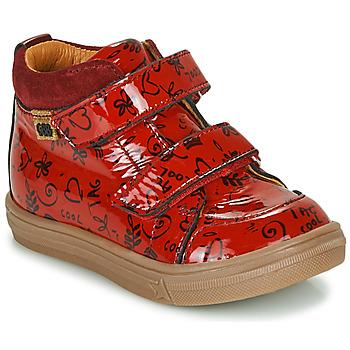 Παπούτσια Κορίτσι Ψηλά Sneakers GBB DOMENA Red