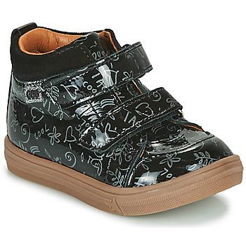 Παπούτσια Κορίτσι Ψηλά Sneakers GBB DOMENA Black