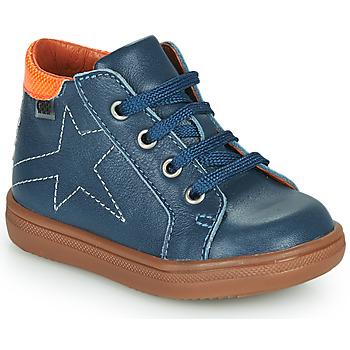 Παπούτσια Αγόρι Ψηλά Sneakers GBB DOMINICO Μπλέ