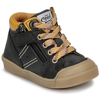 Παπούτσια Αγόρι Ψηλά Sneakers GBB ANATOLE Black