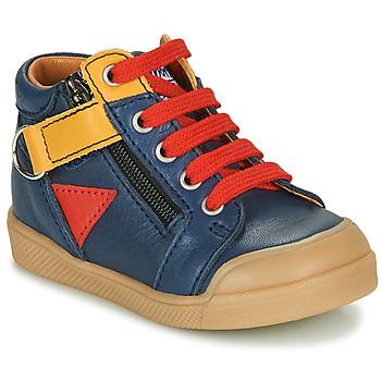 Παπούτσια Αγόρι Ψηλά Sneakers GBB TIMOTHE Μπλέ