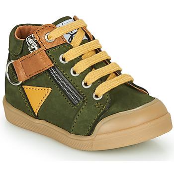 Παπούτσια Αγόρι Ψηλά Sneakers GBB TIMOTHE Green