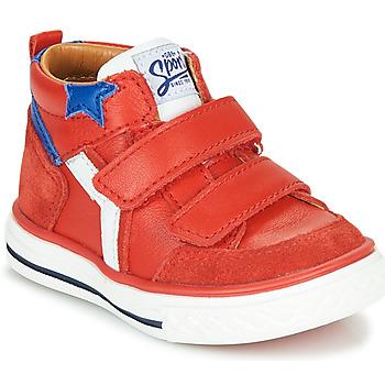 Παπούτσια Αγόρι Ψηλά Sneakers GBB FLAVIO Red