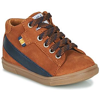 Παπούτσια Αγόρι Ψηλά Sneakers GBB WESTY Brown