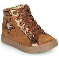 Παπούτσια Κορίτσι Ψηλά Sneakers GBB TADEA Brown