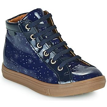 Παπούτσια Κορίτσι Ψηλά Sneakers GBB PHILEMA Μπλέ