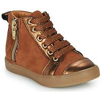 Παπούτσια Κορίτσι Ψηλά Sneakers GBB SAVIA Brown