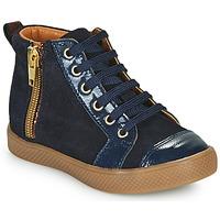 Παπούτσια Κορίτσι Ψηλά Sneakers GBB SAVIA Μπλέ