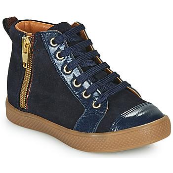 Ψηλά Sneakers GBB SAVIA ΣΤΕΛΕΧΟΣ: Κρούστα από δέρμα & ΕΠΕΝΔΥΣΗ: Δέρμα & ΕΣ. ΣΟΛΑ: Δέρμα & ΕΞ. ΣΟΛΑ: Καουτσούκ