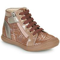 Παπούτσια Κορίτσι Ψηλά Sneakers GBB RACHIDA Beige