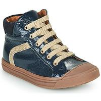 Παπούτσια Κορίτσι Ψηλά Sneakers GBB VIVENA Μπλέ