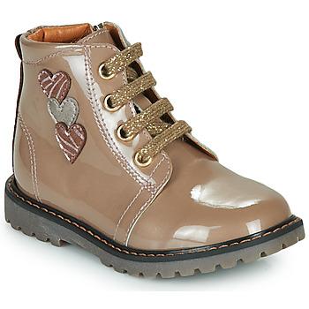 Παπούτσια Κορίτσι Ψηλά Sneakers GBB MOIRA Beige