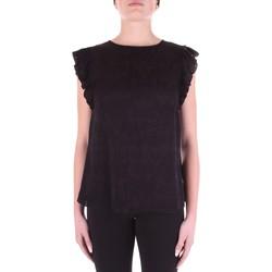 Υφασμάτινα Γυναίκα Μπλούζες Versace B0HWA631-09475 Nero