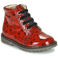 Παπούτσια Κορίτσι Ψηλά Sneakers GBB NAREA Red