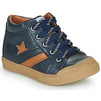 Παπούτσια Αγόρι Ψηλά Sneakers GBB LEON Μπλέ