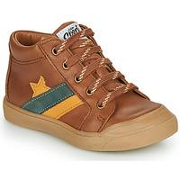 Παπούτσια Αγόρι Ψηλά Sneakers GBB LEON Brown