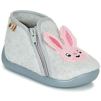 Παπούτσια Κορίτσι Παντόφλες GBB APOPOTAM Grey