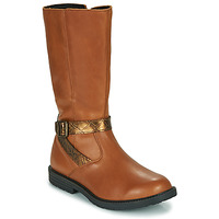 Παπούτσια Κορίτσι Μπότες για την πόλη GBB OKINDI Brown