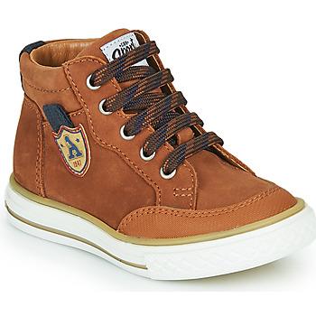 Παπούτσια Αγόρι Ψηλά Sneakers GBB NATHAN Brown