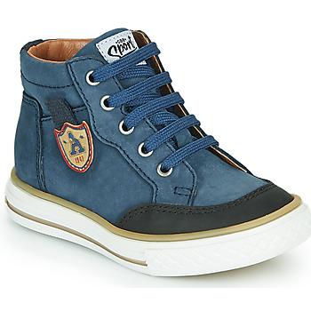 Παπούτσια Αγόρι Ψηλά Sneakers GBB NATHAN Μπλέ