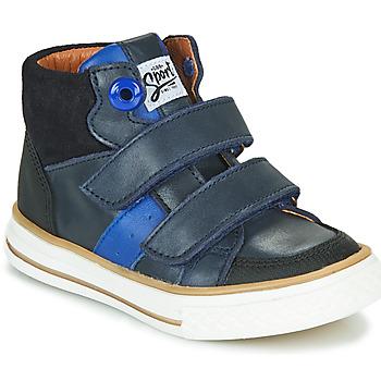 Παπούτσια Αγόρι Ψηλά Sneakers GBB KIMMY Μπλέ