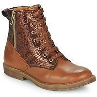 Παπούτσια Κορίτσι Ψηλά Sneakers GBB ANASTY Brown