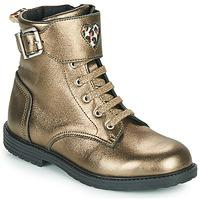 Παπούτσια Κορίτσι Ψηλά Sneakers GBB DOZZY Gold