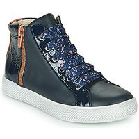 Παπούτσια Κορίτσι Ψηλά Sneakers GBB FAVERY Μπλέ